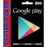 Tarjeta Google Play Store 50 Usd Usa - Onetap Store