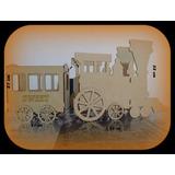 Tren Locomotora Pak  X 12 Unidades
