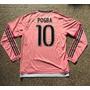Camiseta Manga Larga Rosa Juventus 2016 Dybala Pogba