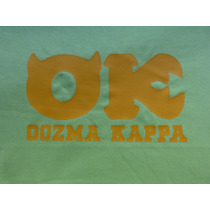 Remeras Oozma Kappa Equipo Monster Inc.
