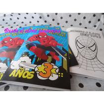 12 Libros Para Colorear Personalizados