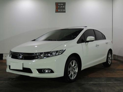 Honda Civic Exs 2014 Automatico Cuero 4p Dh Aa San Blas Auto