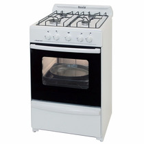 Cocina Escorial Master Blanca Gas Natural 56cm