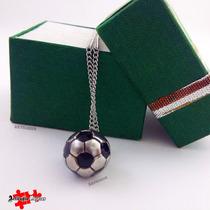 70d7094f1a7d Dije Pelota Deporte Futbol + Cadena + Estuche Macizo en venta en ...