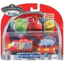 Chuggington Patrol Wilson Locomotora Y Vagon