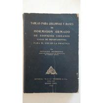 Tablas Para Columnas Y Bases De Hormigon Armado- Heimberg