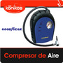 Compresor Inflador Good Year Aire Rapido Portatil 12v 300psi