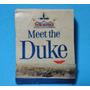Antigua Cajita De Fósforos Publicidad Cigarrillos Duke Usa