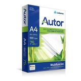 Envio Gratis Comprando 10 Autor A4 75 Papelera Grafipel