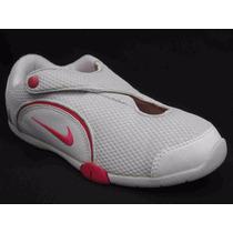 Zapatillas Nike Blanco Rosa Niña Talle 33.5 Original