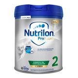 Leche De Fórmula En Polvo Nutricia Bagó Nutrilon Profutura 2 Por 4 Unidades De 800g