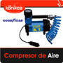 Compresor Inflador Heavy Duty Good Year Rapido Portatil 12v