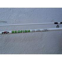 Combo Redfish - Caña De Pesca 2 Tramos 2.70 Mts + Reel Sl500