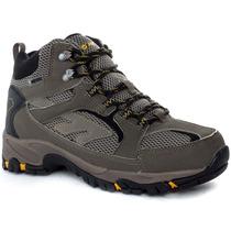 Zapatillas Bota Hi Tec Lima Wp Hombre Trekking Impermeables