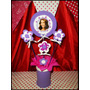 Centro De Mesa Souvenirs Violetta Angry Birds Princesas