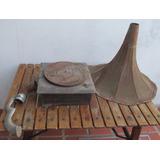 Antiguo Fonografo Maestrofono, Partes, A Restaurar, Gotech