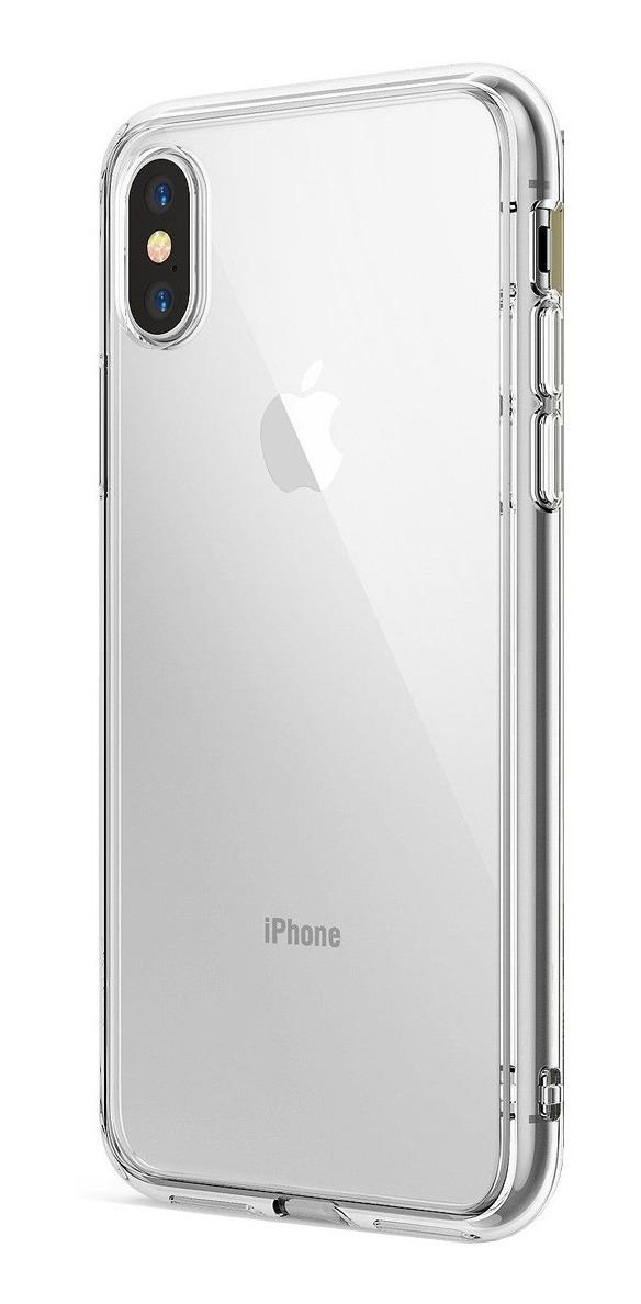 FUNDA RINGKE FUSION IPHONE XS CLEAR (TRANSPARENTE)