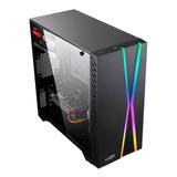 Gabinete Pc Gamer Sentey X10 Rgb Acrilic Usb 3.0 Xellers