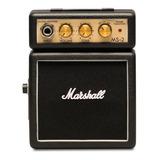 Amplificador Marshall Micro Amp Ms-2 1w Transistor Negro