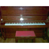 Piano Vertical Super Irlandés Burmeister 88 Teclas 3 Pedales