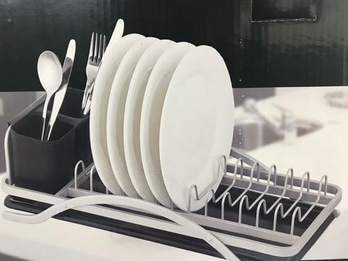 Escurridor Aluminio Secaplatos Cubiertos Ideas Obelisco c103e66637d3