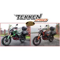 Moto Jawa Tekken 250 0km Touring 2016 Entrega Fines Julio