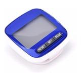 Podometro Digital Cuenta Pasos Distancia Calorias Con Clip