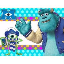 Kit Imprimible Monster University Modelo Para Nenes Y Nenas