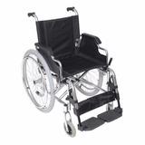 Silla De Ruedas Aluminio Silfab 110kg 3007/46 Nueva Plegable