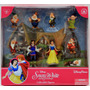 Disney Parks Set De 9 Figuras De Blanca Nieves Exclusivo!!!