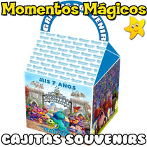 10 Cajitas Feliz Souvenirs Monsters University Golosinera