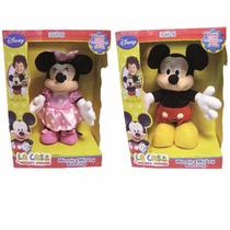 Mickey O Minnie Peluche Bailan Dancing De Disney