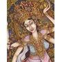 Cuadro De Pintura Indu Impreso Sobre Tela Canvas 60x77