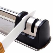 Afilador De Cuchillos De Ceramica Realizado En Acero Inox