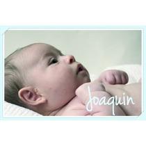 Iman Foto Souvenirs Personalizados 7x10cm Nacimientos X10