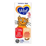 Leche De Fórmula Líquida Nutricia Bagó Vital 3 Por 30 Unidades De 200ml