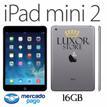 Apple Ipad Mini 2 16gb Space Gray Retina 1 Año De Garantía