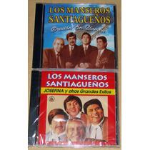 Los Manseros Santiagueños 2 Cds Nuevos