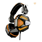 Headset Auricular Gamer Level Up Copperhead Ps4 Oc Xbox One