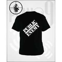 Remeras Estampadas Public Enemy