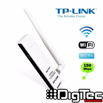 Receptor Wi-fi Usb Tp-link Tl-wn722n Con Antena Banfield