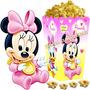 Kit Imprimible Minnie Bebe Disney Candy Bar Y Cotillon 2x1