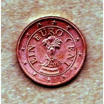 Austria 1 Euro Cents 2013 - Muy Bonito, Sin Circular !!!!!!