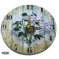 Reloj De Pared Madera 30cm