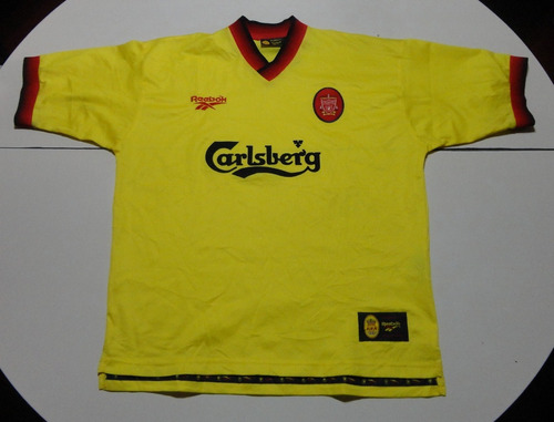 da3d2e9bbf6 Camiseta De Liverpool Amarilla Reebok