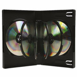 Caja Multiple Dvd Importada Para 8 Unidades