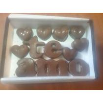Bombones Y Dedicatoria De Chocolate