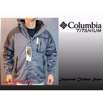 Campera Columbia Titanium 3 En 1 Hombre Original Nueva