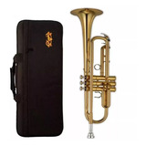 Knight Jbtr-300 Trompeta Bb, Yellow Brass
