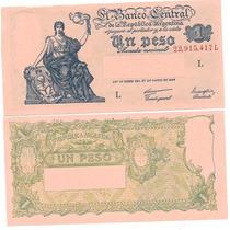 Billete 1 Peso Progreso Año 1948 Serie L Sin Circular
